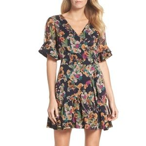 ADELYN RAE Penelope Ruffle Dress